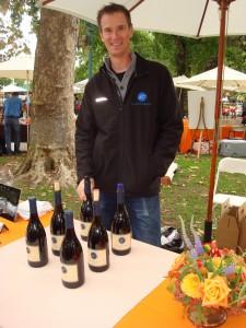 Alan Baker ready to pour